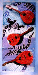 3 mandolines by santosam81