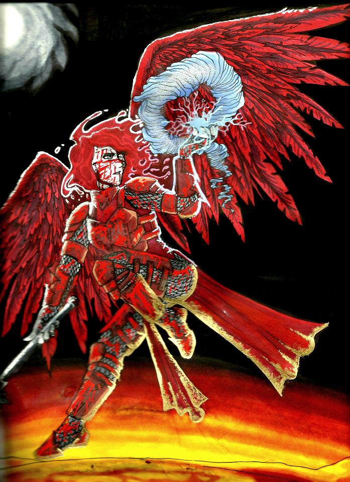 Morwyn - Blood Maiden by ARHunter
