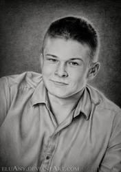 Portrait of a boy by Eluany
