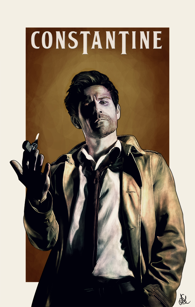 Constantine - Matt Ryan by SouthWolfie