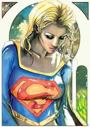 Supergirl,but.... by J-Estacado