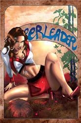 the Cheerleader II colored by J-Estacado