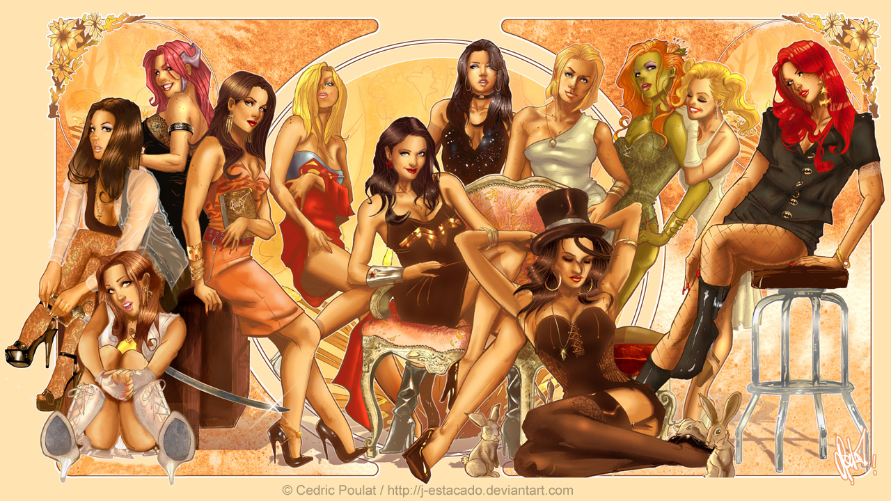 pinup girls wallpaper marvel - photo #19