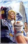 Powergirl, brand new version