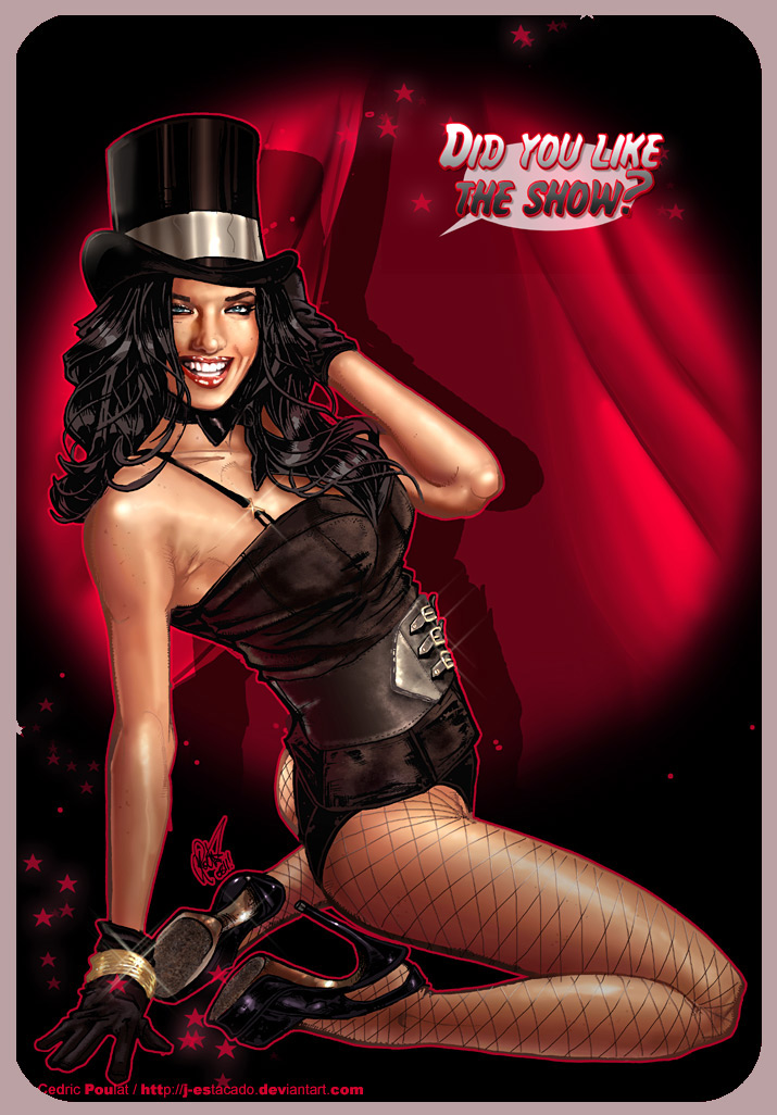 Zatanna,one more -again by J-Estacado