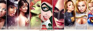 DC WOMEN - FACES