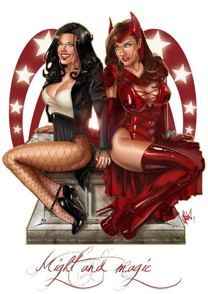 SCARLET WITCH - ZATANNA by J-Estacado