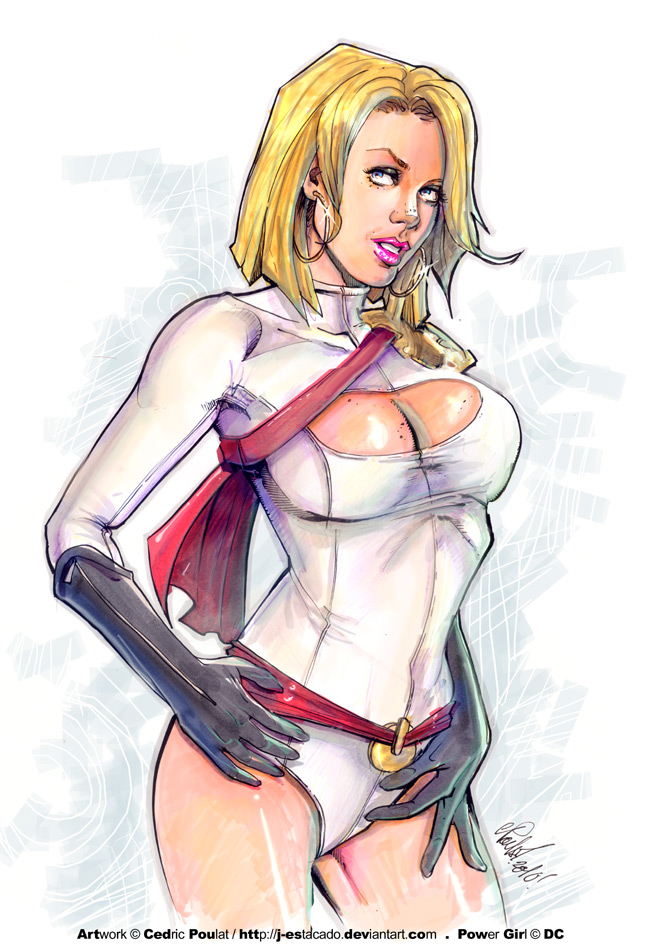 POWERGIRL-markers by J-Estacado