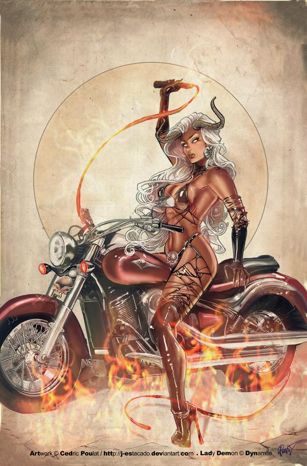 LADY DEMON 2 by J-Estacado
