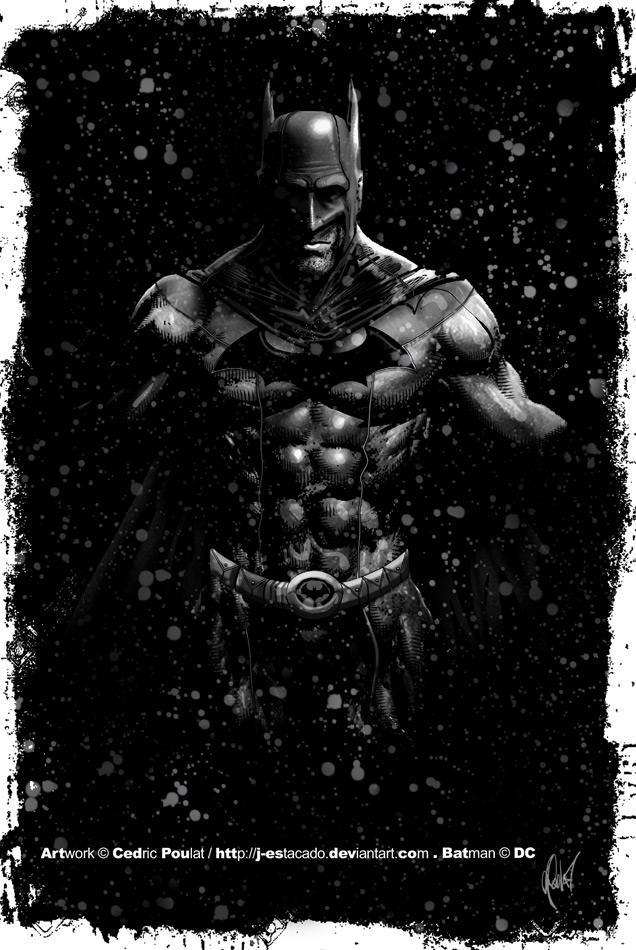 THE BATMAN by J-Estacado