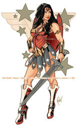 WARRIOR WONDER WOMAN by J-Estacado