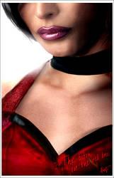 The bi..h in the red dress by J-Estacado