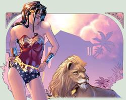 Wonder Woman's pet by J-Estacado