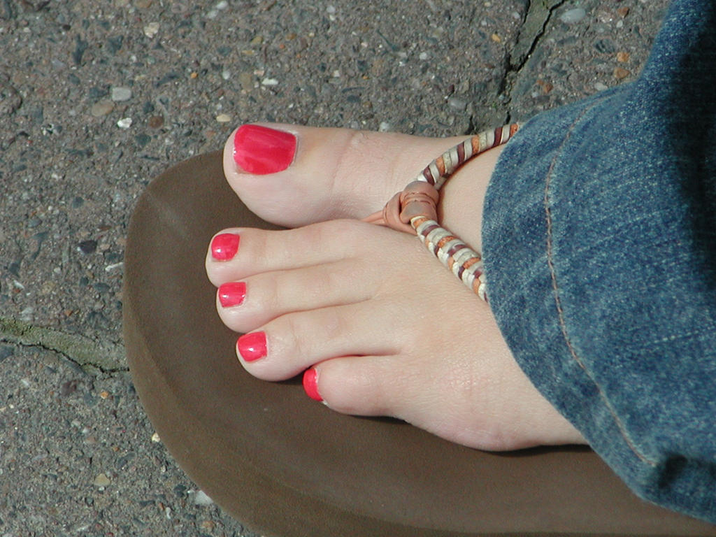 Sweet cherry toes by BlacknylonDemon on DeviantArt