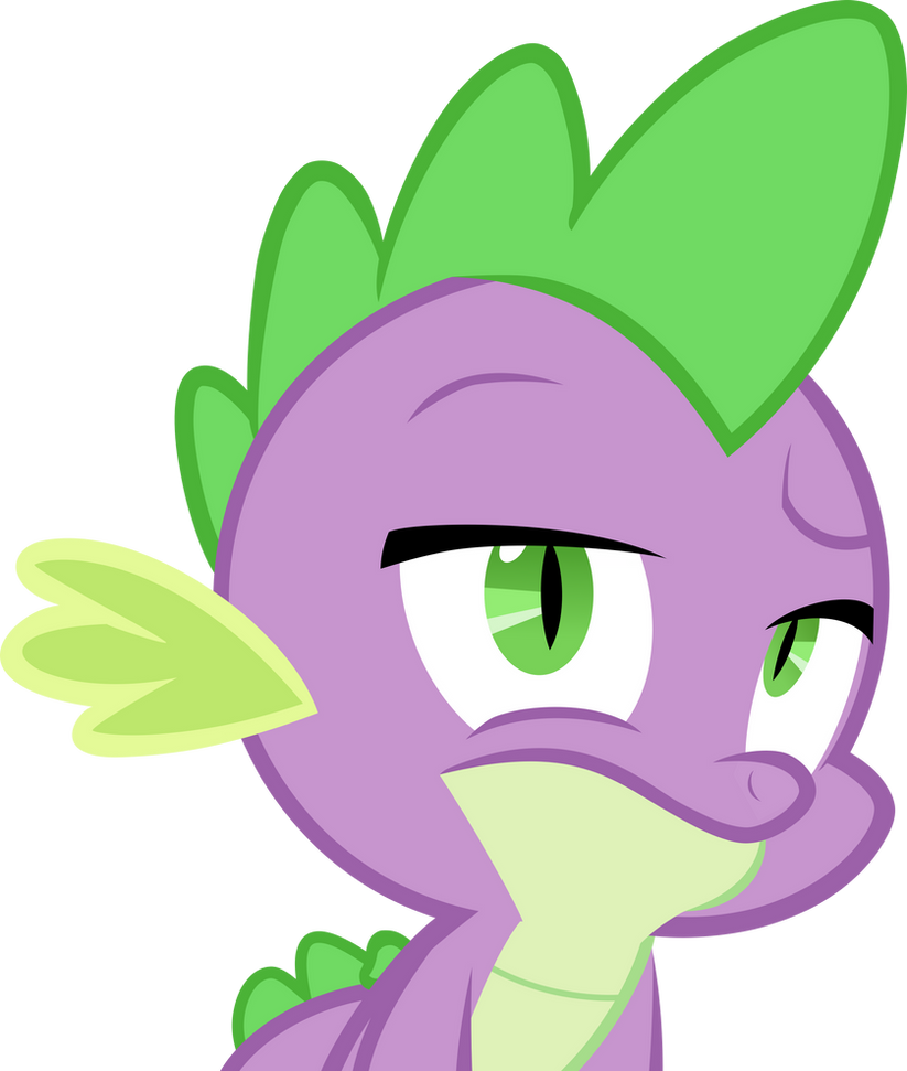 Spike is Several Disappoints by PsychoanalyticBrony