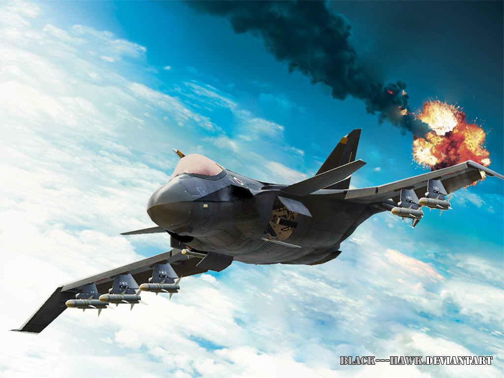 air combat by Black---Hawk
