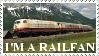 I'm a Railfan - stamp by Tigrar