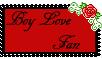 Boy Love Fan, Stamp by kitkatnis