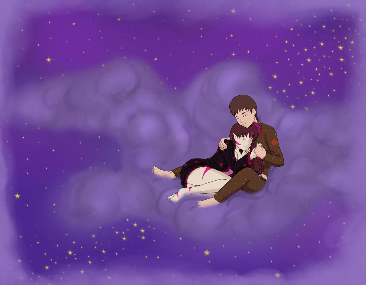 Cloud Slumber by kitkatnis