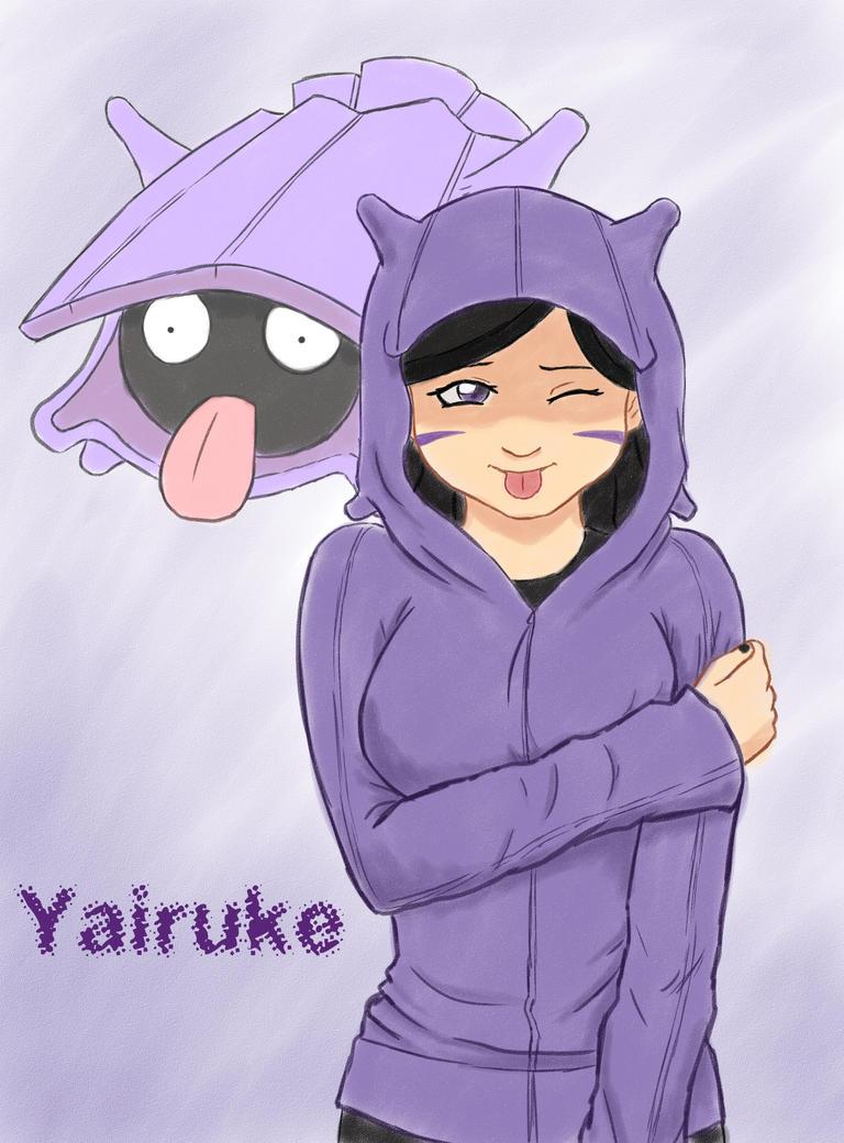 Yairuke (Shellder) by kitkatnis