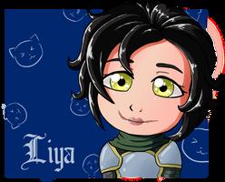 Liya (Button Commission) by kitkatnis