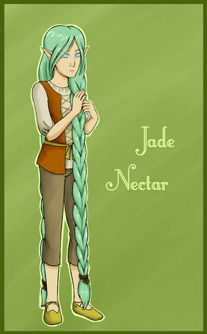 Jade Nectar (Contest Entry) by kitkatnis