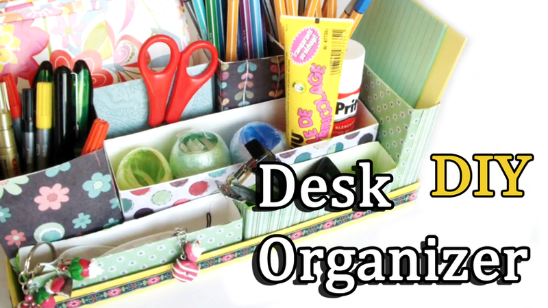 DIY Desk Organizer By Leviana
