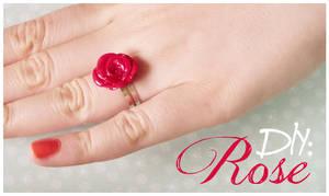 DIY: Rose Ring and Earrings