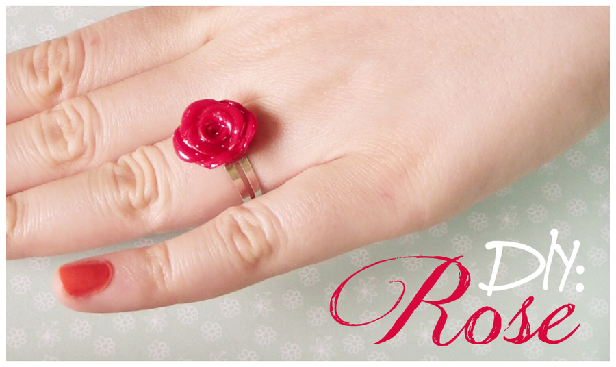 DIY: Rose Ring and Earrings by Leviana on DeviantArt
