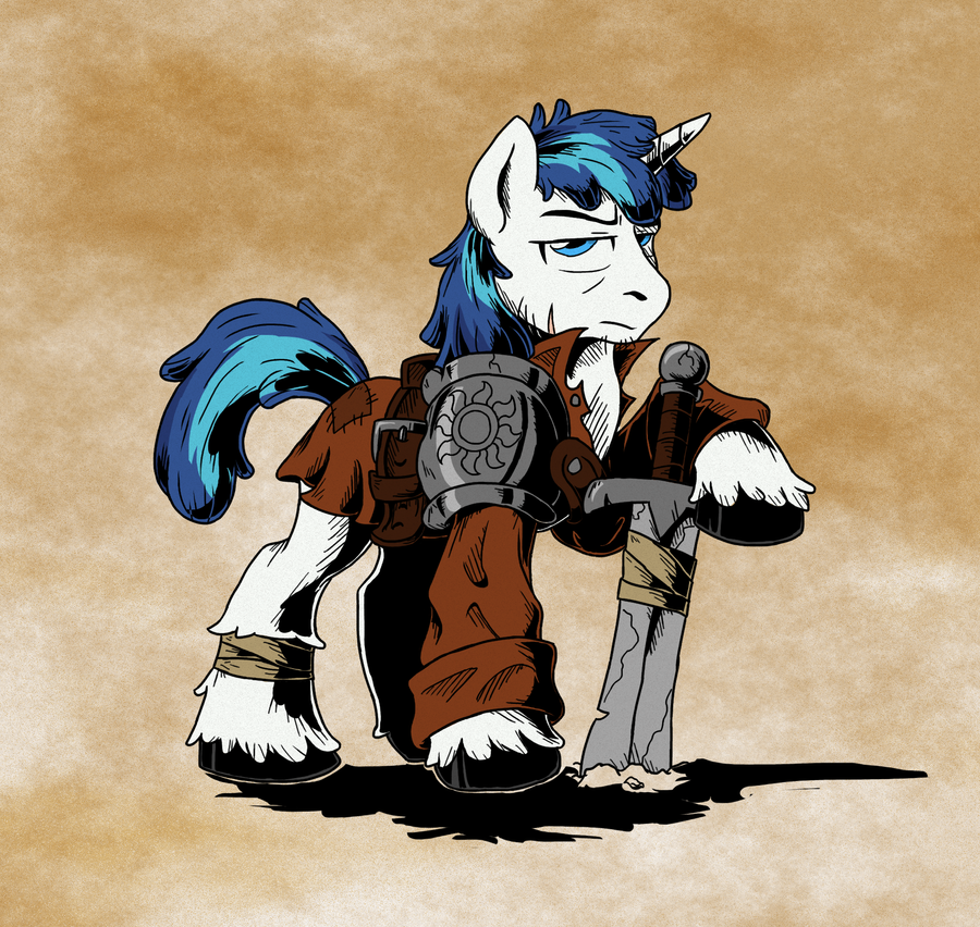 Ragged Armor by SonicPegasus