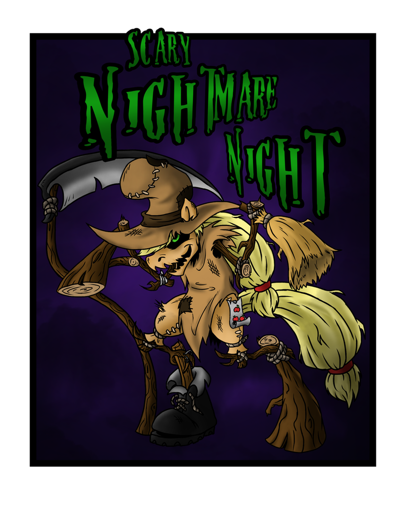 Wish Ya scary Nightmare Night by SonicPegasus