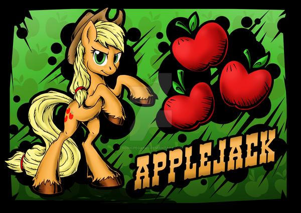 Applejack by SonicPegasus