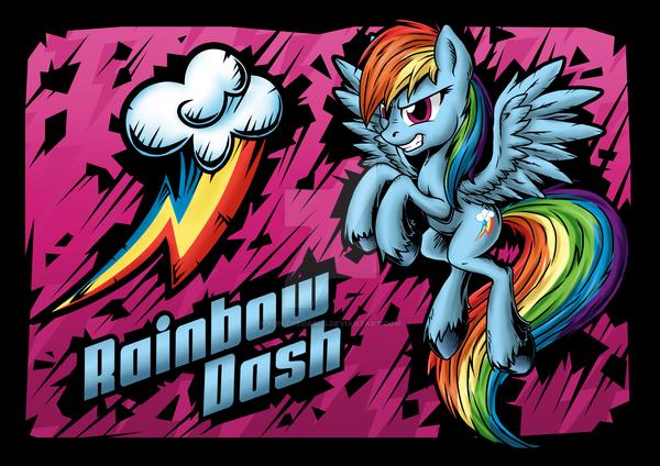 Rainbow Dash by SonicPegasus