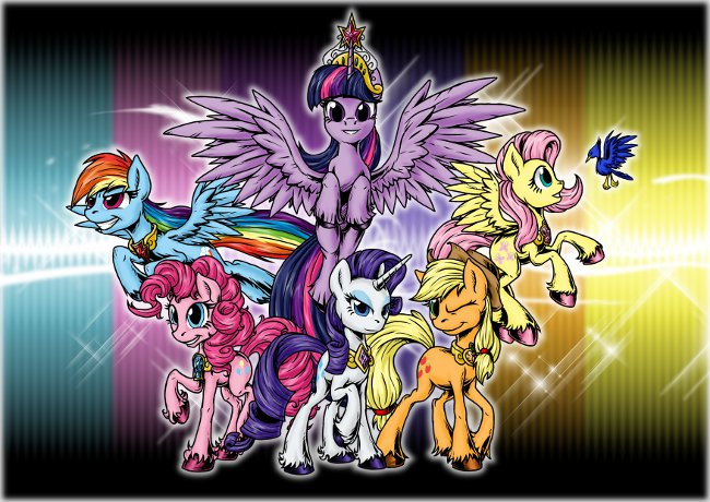 What Are The Six Main Elements Of Art : The elements of harmony by sonicpegasus on deviantart