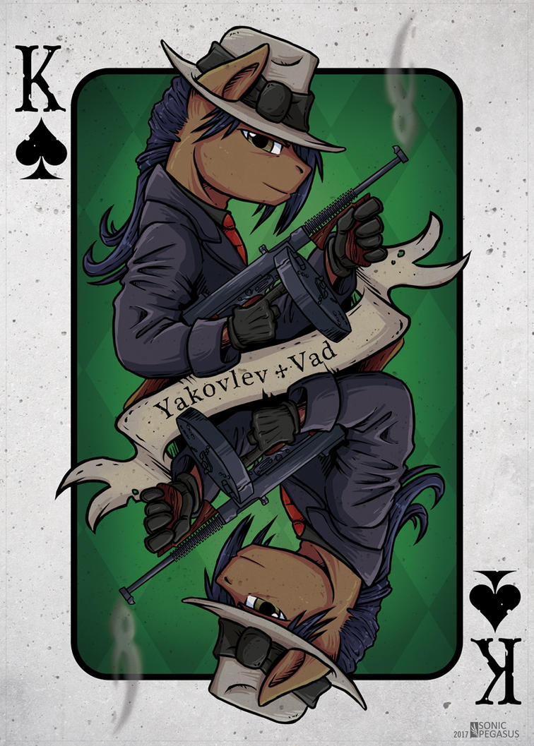 Spades King by SonicPegasus