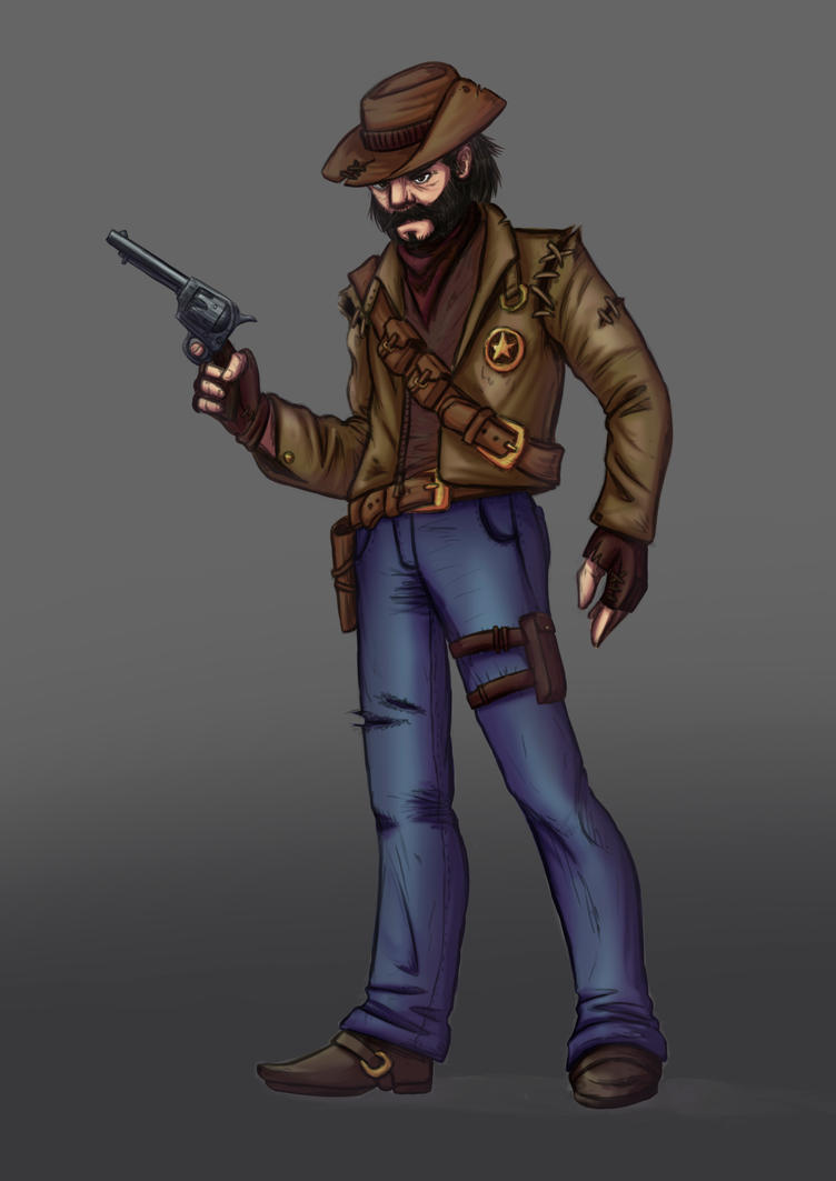Sheriff concept by SonicPegasus