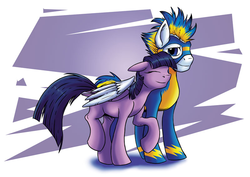 Pegasi Couple by SonicPegasus