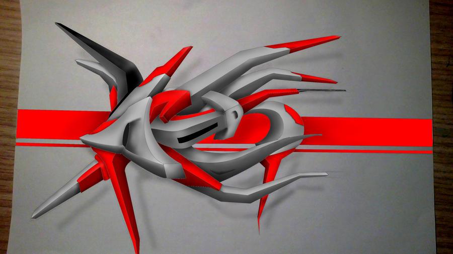 rako 3D graff by Toma-Punto-Artworks on DeviantArt