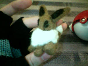 Needlefelted Eevee