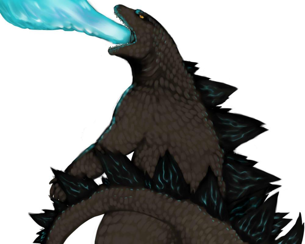 Day 5: Godzilla/Gojira by ianseanco