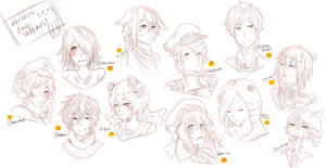 28216 Emoji Sketch Request~ by unko-to