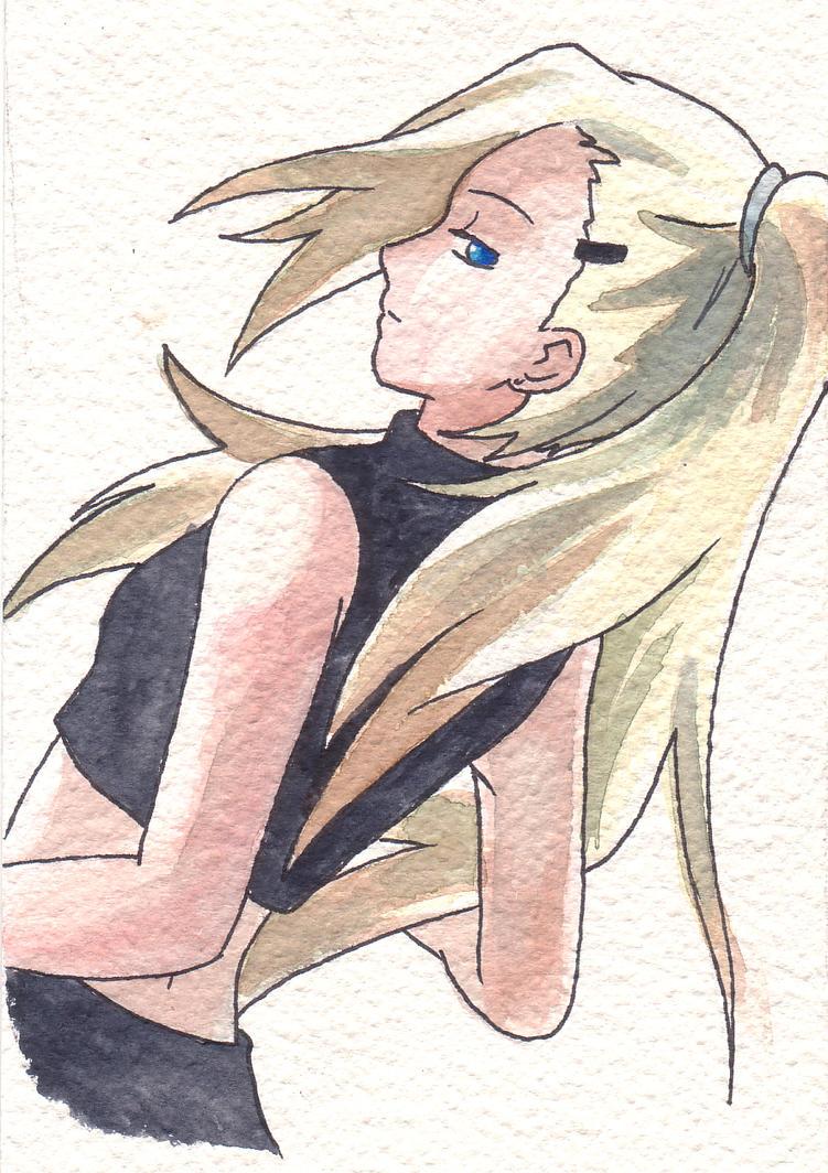 Ino watercolour by kima14u