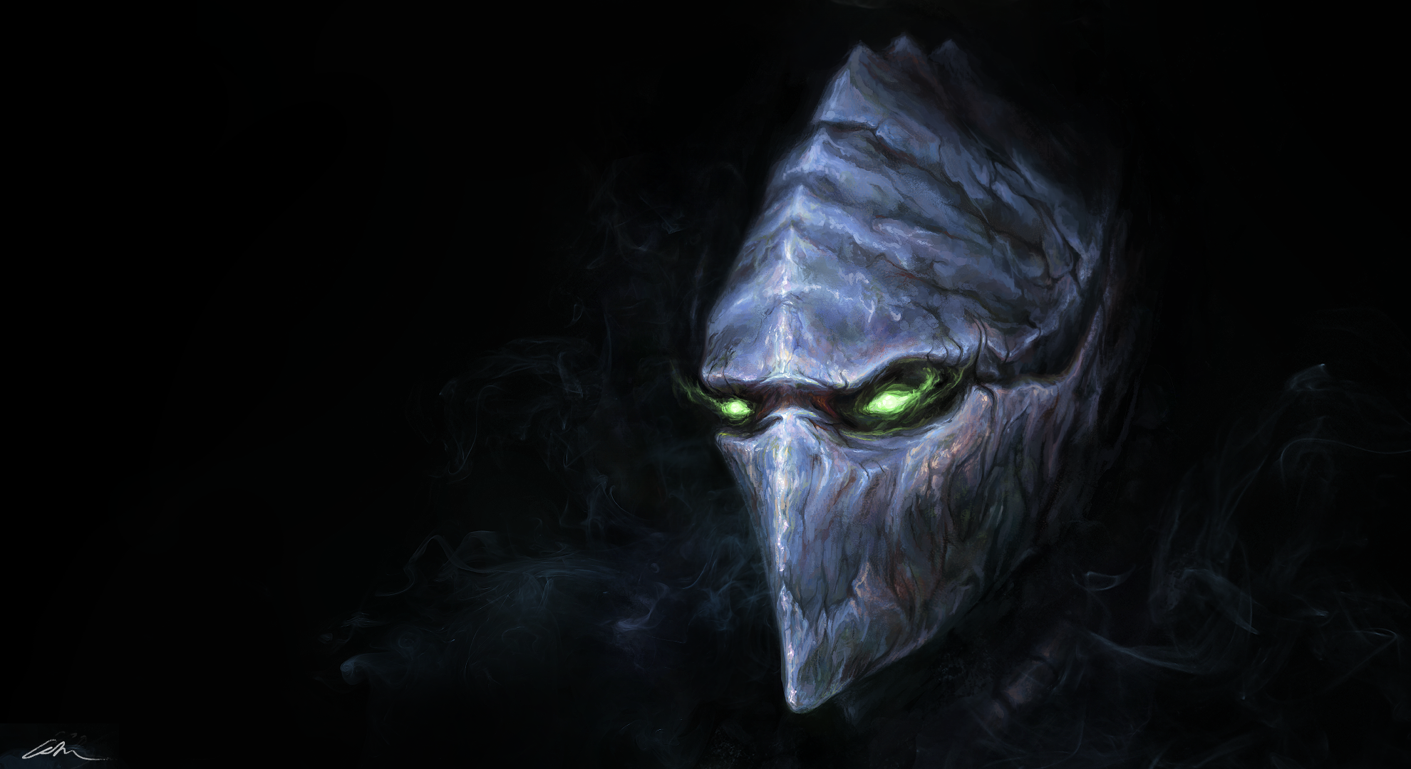 Dark Templar - Wallpaper version by oliverryanart