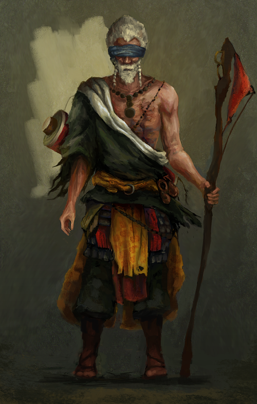shaman by oliverryanart