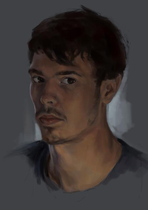 self portrait by oliverryanart