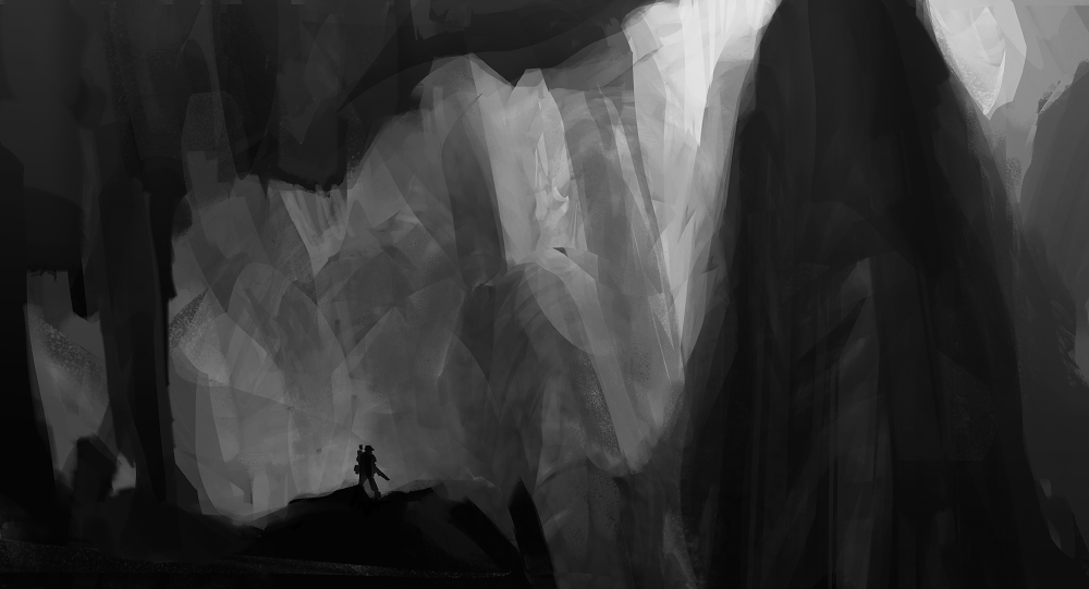 environment sketch 1 by oliverryanart