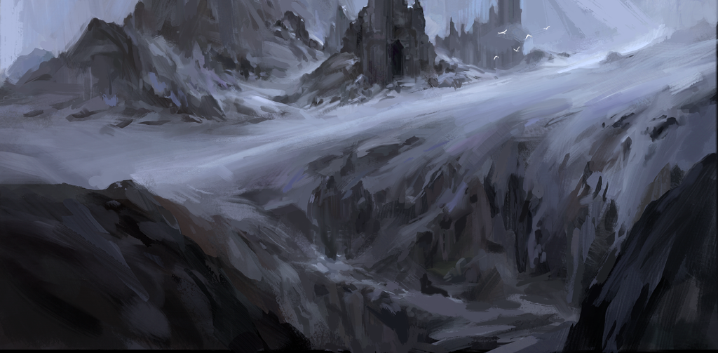 environment sketch by oliverryanart