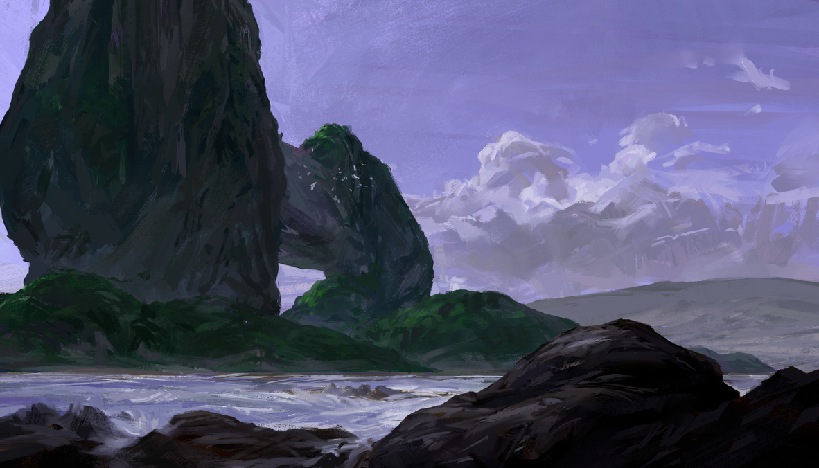 Archipelago by oliverryanart