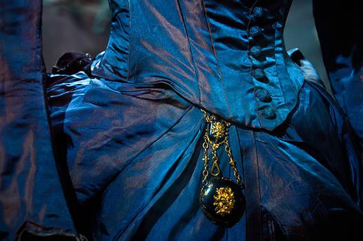 Enchanting blue dress