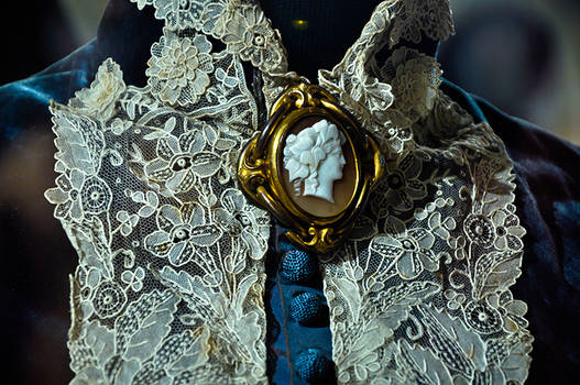 Enchanting blue dress II